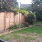 Lap Panel Fencing with Wooden Posts - Fencing Specialist