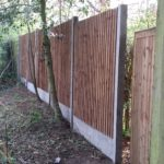 Pre-Built Featherboard with Concrete Gravel Boards - Fencing Specialist